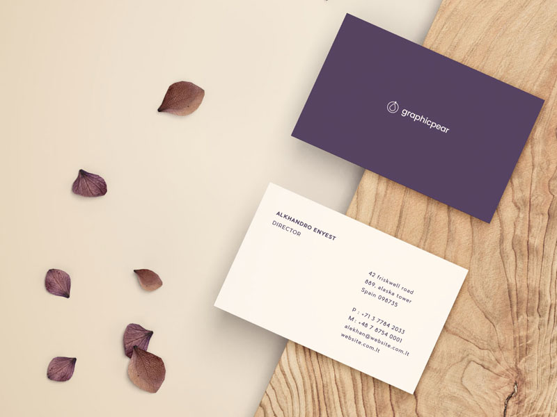 Front back business card psd mockup mockupsq front back business card psd mockup colourmoves Image collections