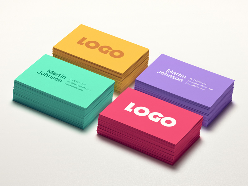 Colorful stacked business cards psd mockup mockupsq colorful stacked business cards psd mockup colourmoves