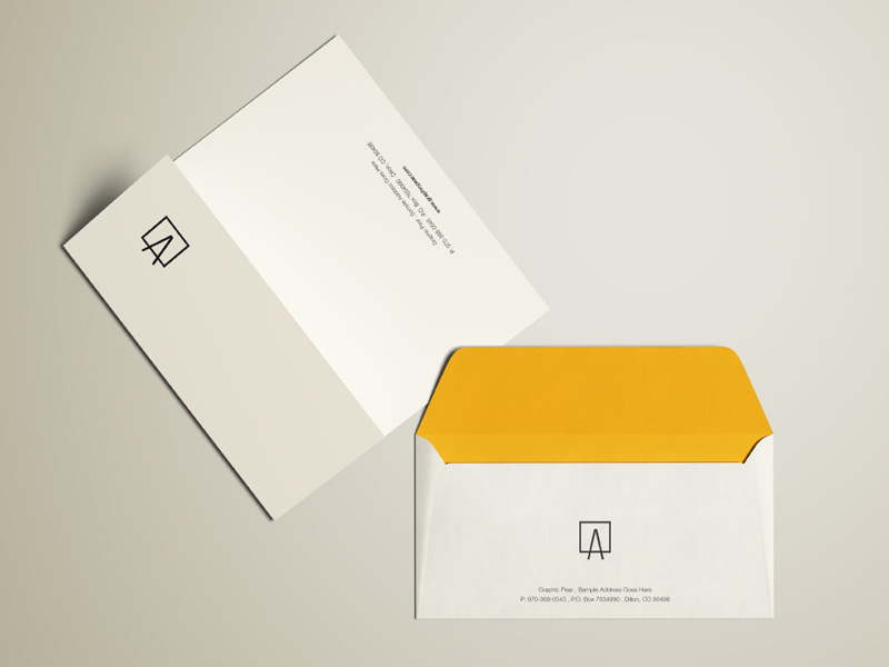 Perfect Envelope U0026 Letterhead PSD Mockup